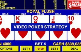 Video poker strategy tips
