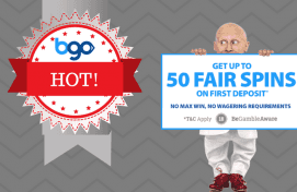 BGO Casino Fair Spins Bonus