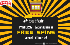 Betfair Casino: Free Spins, Match Bonuses and More!