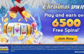 PowerSpins December Bonus