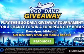 Play in the BGO Daily Giveaway Tournament and Win