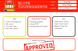Online slots tournaments pros and cons