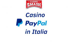 Casino con PayPal in Italia