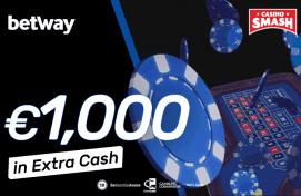 € 1000 Extra Cash im Betway Casino