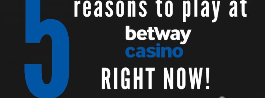 Betway casino play