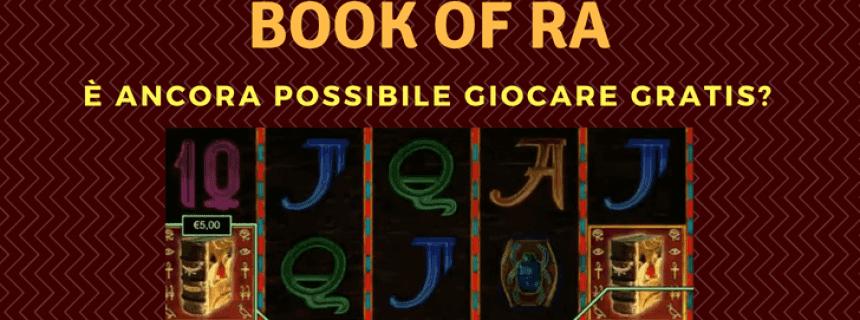 Book Of Ra Gioca Gratis On Line