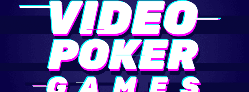 video poker types