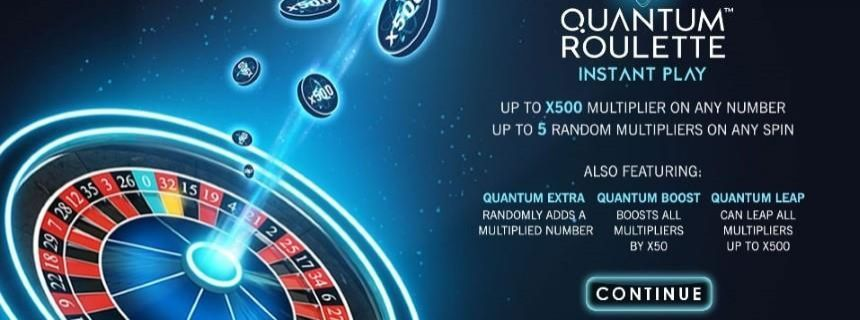 Quantum Roulette Instant Play: Win up to £250,000!