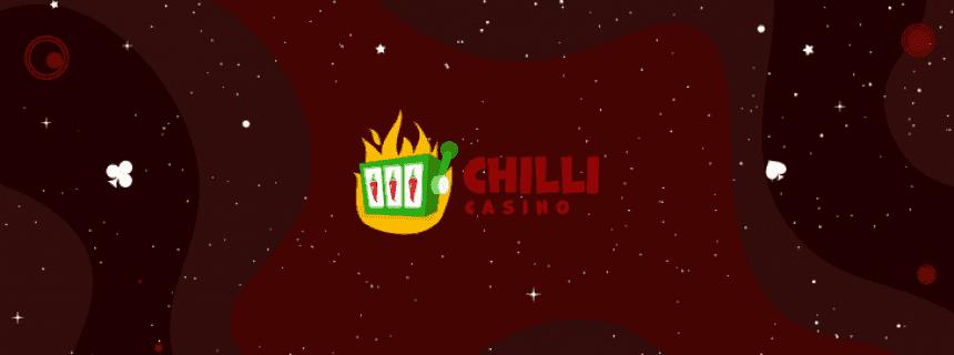 Chilli Casino Mega Wheel Welcome Bonus