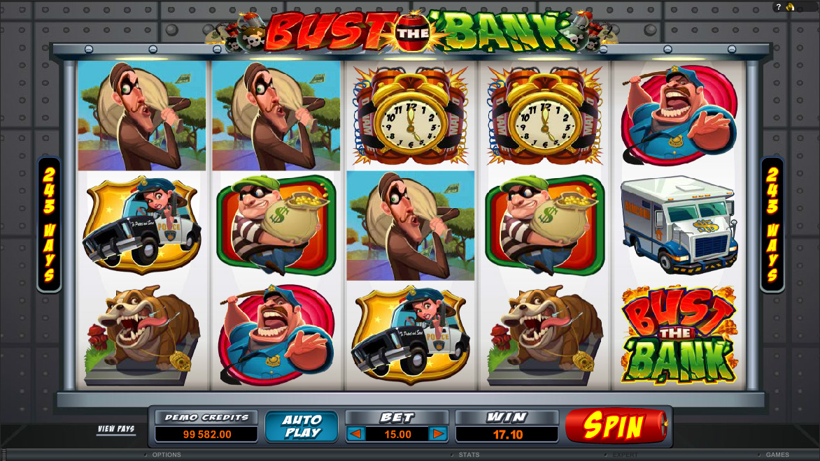 Vault Buster Slots - Play for Free Instantly Online