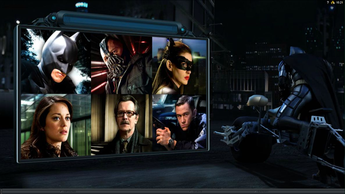 The Dark Knight Rises slot - spil gratis online