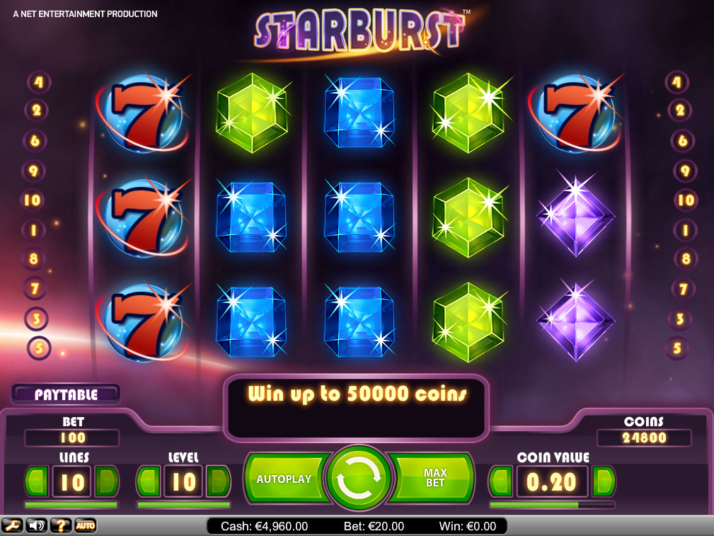 slot machine game online starurst