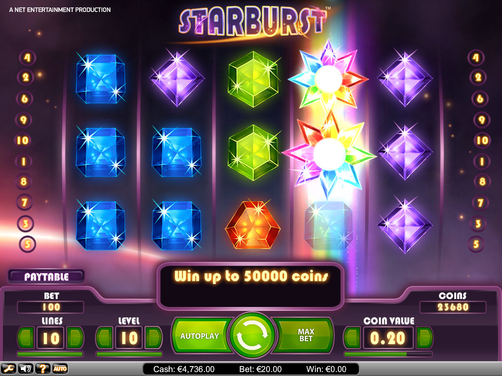 one casino starburst