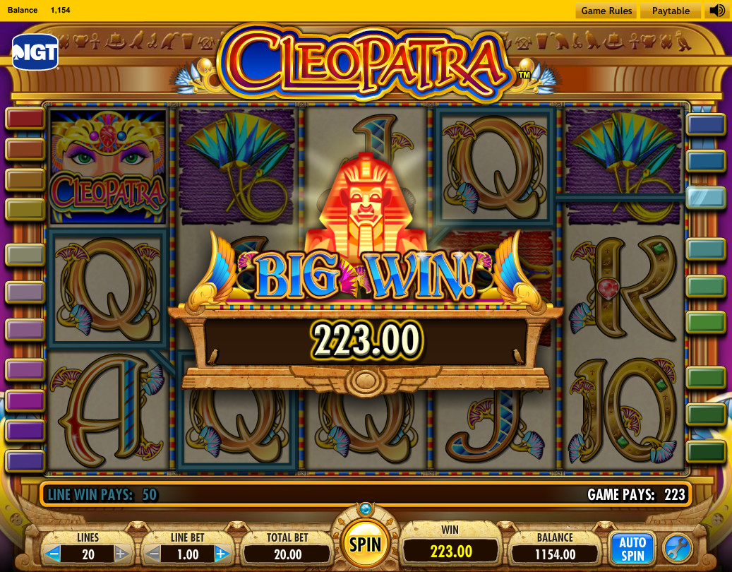 Free Cleopatra Casino Games