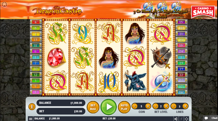 Spiele Dragon Castle - Video Slots Online