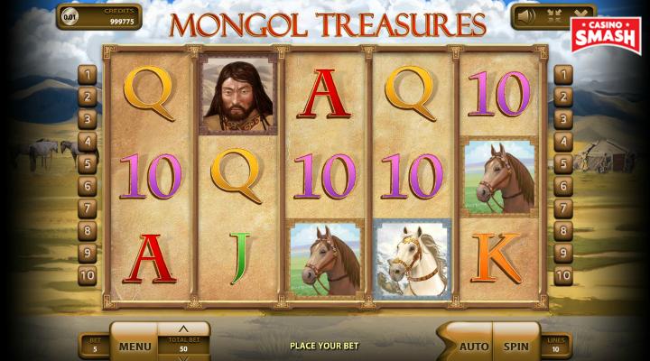 Mongol Treasures Slot Machine