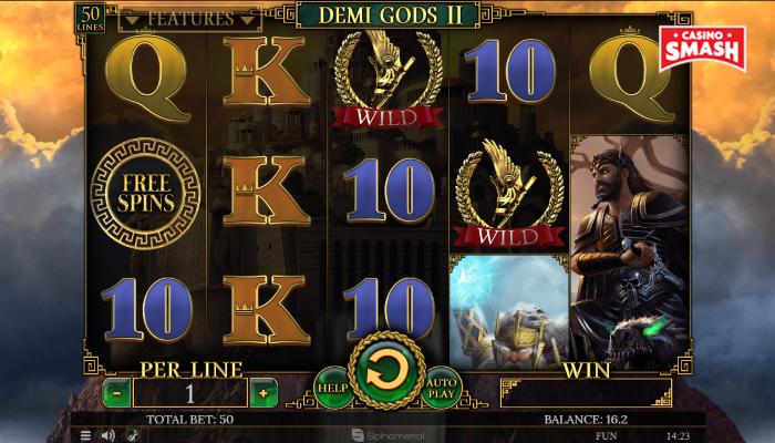 Spiele Demi Gods - Video Slots Online