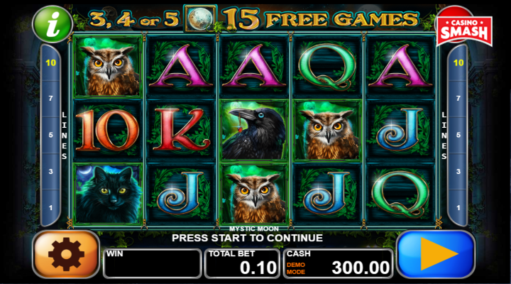 Spiele Mystic Books - Video Slots Online