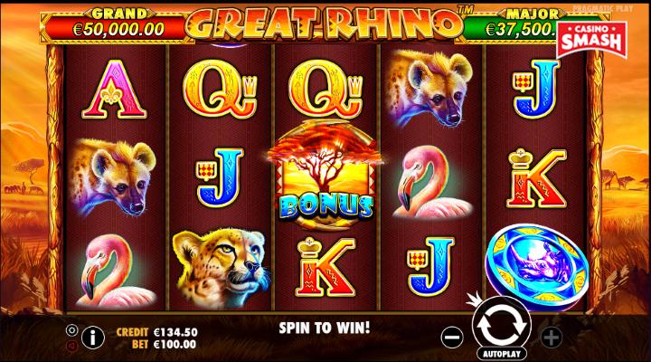 Spiele Great Rhino - Video Slots Online