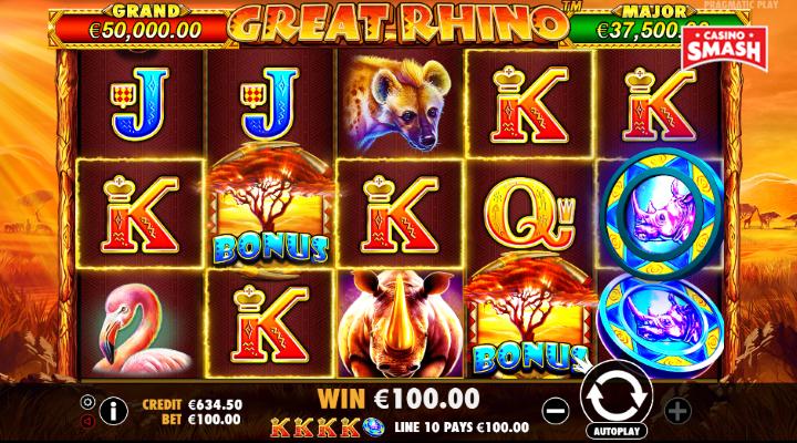 Spiele Rhino - Video Slots Online