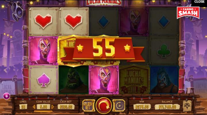 Spiele Lucha Maniacs - Video Slots Online