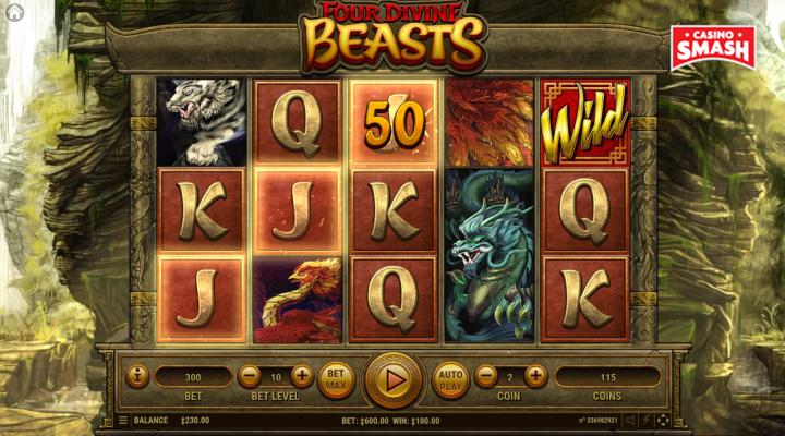 Spiele Four Divine Beasts - Video Slots Online