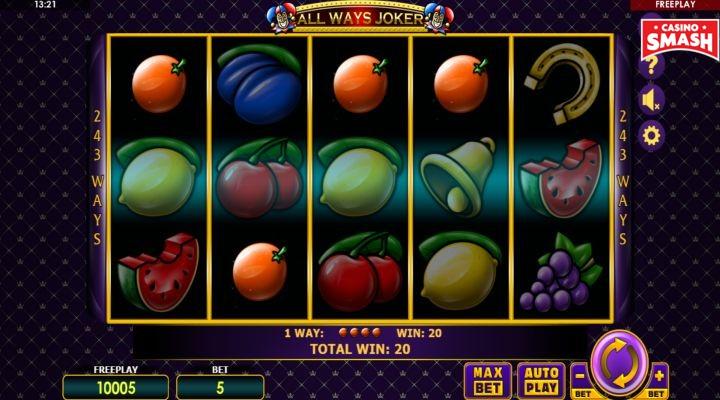 All Ways Joker Slot Machine