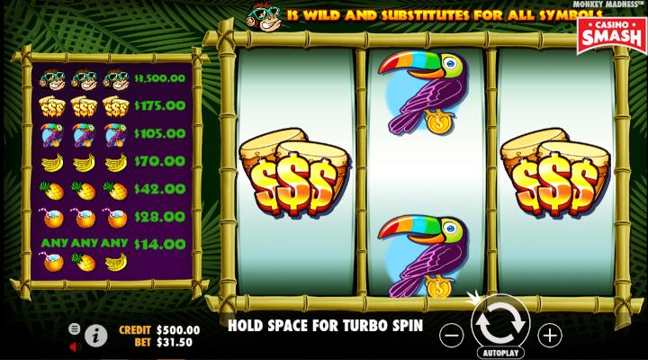 Spiele Monkey MadneГџ - Video Slots Online