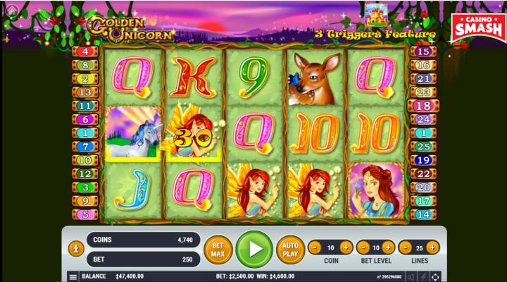Spiele Golden Unicorn - Video Slots Online