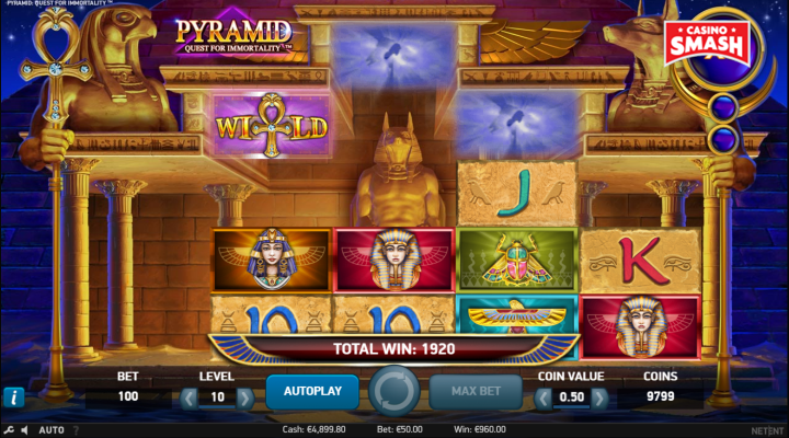 Spiele Pyramid: Quest For Immortality - Video Slots Online