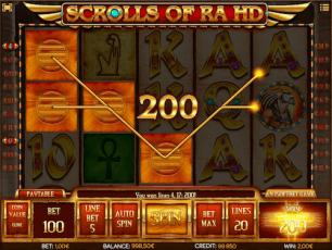 Play Scrolls of Ra Online Slots Online