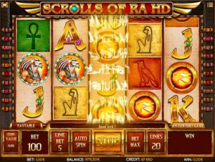 Scrolls of Ra No Deposit Bonus