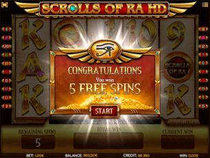Scrolls of Ra Bonus Code
