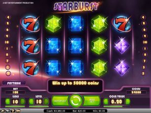 how to play starburst slots online