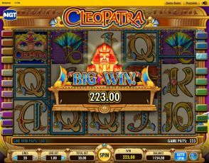 Cleopatra slots game online