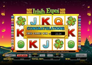 Irish Eyes big win