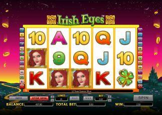 Irish Eyes bonuses