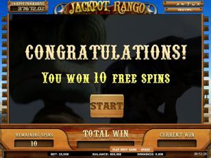 Rango online slots game