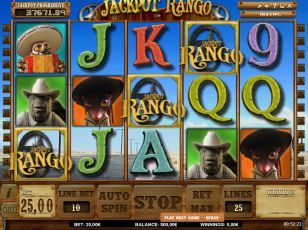 Play the Rango slots