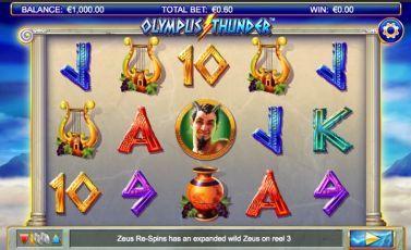 Olympus Thunder Video Slot online