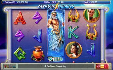 Olympus Thunder Slot Machine Game
