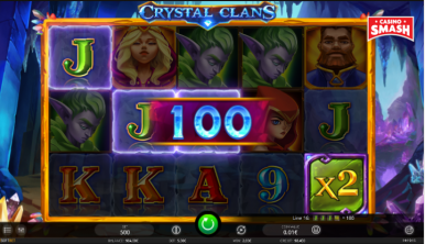 Video Slot Machine Crystal Clans