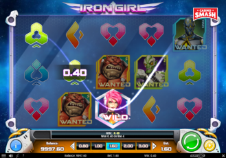 Online Slots Game Iron Girl