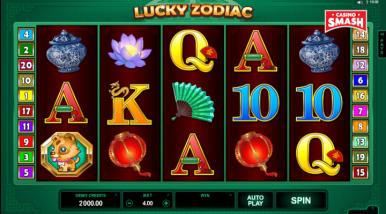 Video Slot Machine Lucky Zodiac