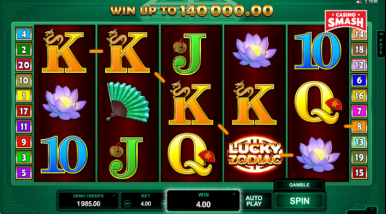 Online Slots Game Lucky Zodiac