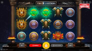 Fire Lightning Video Game