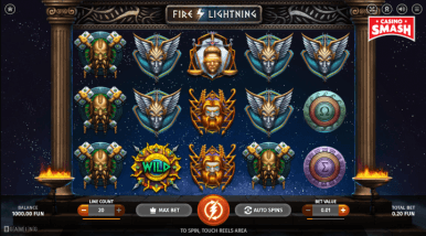 Online Slots Game Fire Lightning