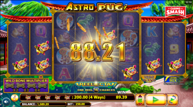 Online Slots Game Astro Pug