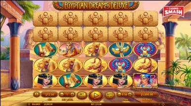 Video Slot Machine Egyptian Dreams Deluxe