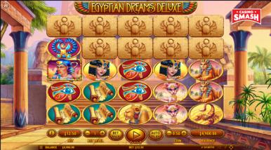 Egyptian Dreams Deluxe Slots